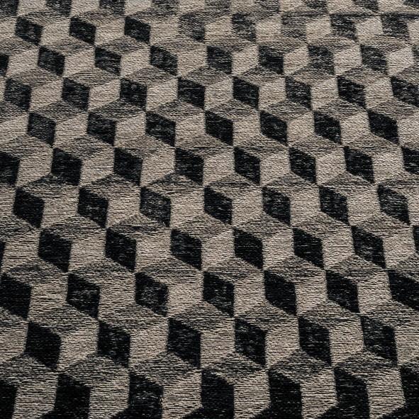 Chenille noir Rubik